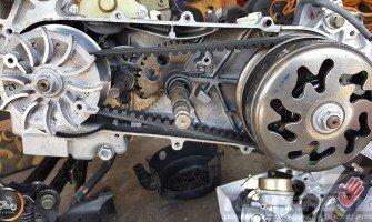 GY6 CVT transmission short|longcase