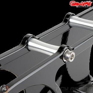 ComposiMo CVT Cover Anklebiter Gloss Black (GY6 longcase)