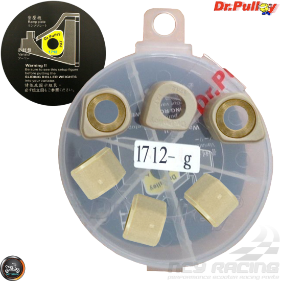 Dr. Pulley Variator Sliding Weight Set 17x12 (AN125)
