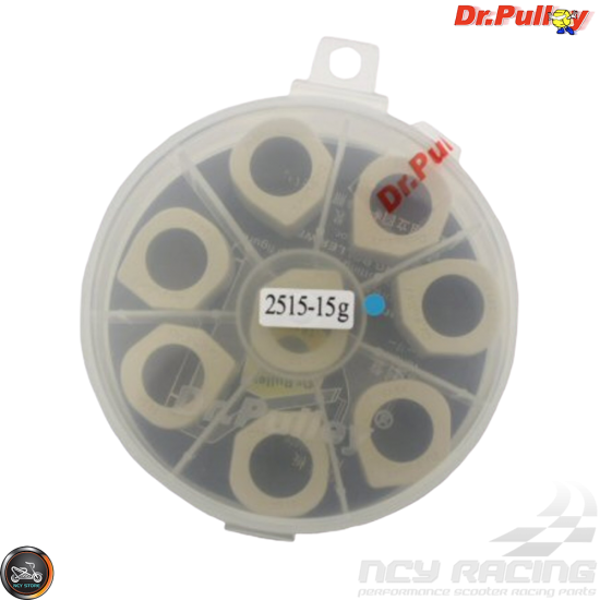 Dr. Pulley Variator Sliding Weight Set 25x15 (Majesty, Morphous, Tmax)