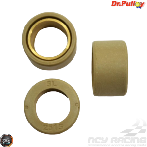 Dr. Pulley Variator Roller Weight Set 25x15 (Majesty, Morphous, Tmax)