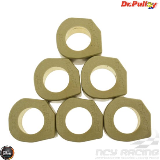 Dr. Pulley Variator Sliding Weight Set 28x22 (Kymco Xciting 500)