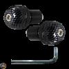 G- Bar-End 7/8in CNC Carbon Fiber Style Set (Universal)