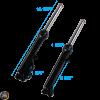 G- Front Fork Black Set (139QMB)