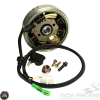 G- Stator 8 Coil AC w/Flywheel 4-Wire 2-Pin (139QMB)
