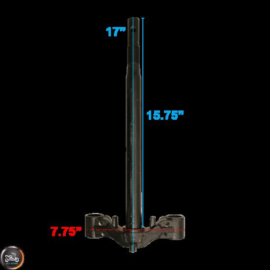 G- Steering Stem Black (139QMB)