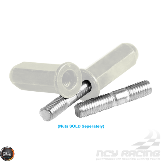 G- Exhaust Stud M6x32mm Set (QMB, GY6)