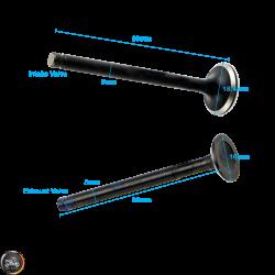G- Valve Set 2V 18.4/16 Fit 69mm (139QMB)