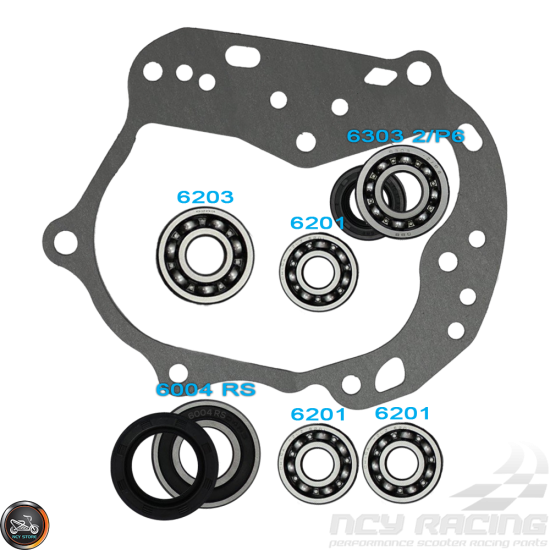 G- Transmission Bearing Seal Gasket Set (139QMB)