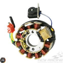 G- Stator 11 Coil AC 6-Wire 2-Pin (GY6)