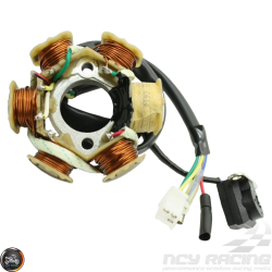 G- Stator 6 Coil AC 5-Wire 2-Pin (GY6)
