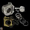 G- Cylinder 57.4mm 150cc Big Bore Kit w/Cast Piston Fit 56mm (GY6 ATV, Buggy, Quad)