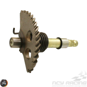 G- Kick Starter Gear Spindle 5.10in (GY6)