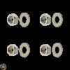 G- Cylinder Stud Nut M7 w/Washer Set (139QMB)