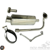G- Exhaust Stainless Steel Performance Oval (139QMB)