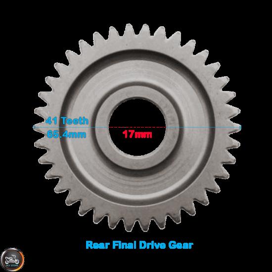 G- Gear Set 17*41 (Honda Dio)