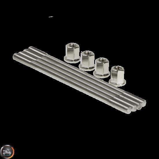 G- Cylinder Stud 120mm w/Nut 2V Set (Honda Dio)