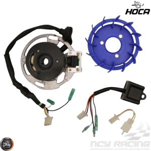 Hoca Stator 8-Pole Racing Performance Kit (40QMB, Minarelli)