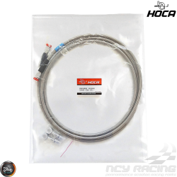 Hoca Brake Line Rear 240cm Stainless Braided Dragon (QMB, GY6, Universal)