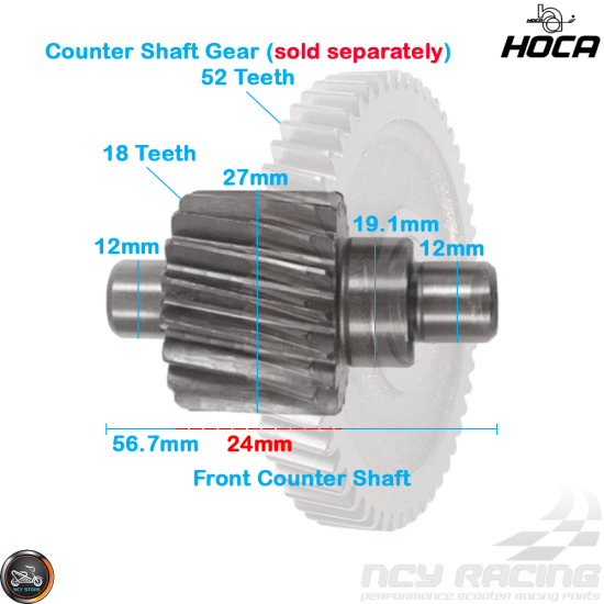 Hoca Gear Set 18*46 (139QMB)