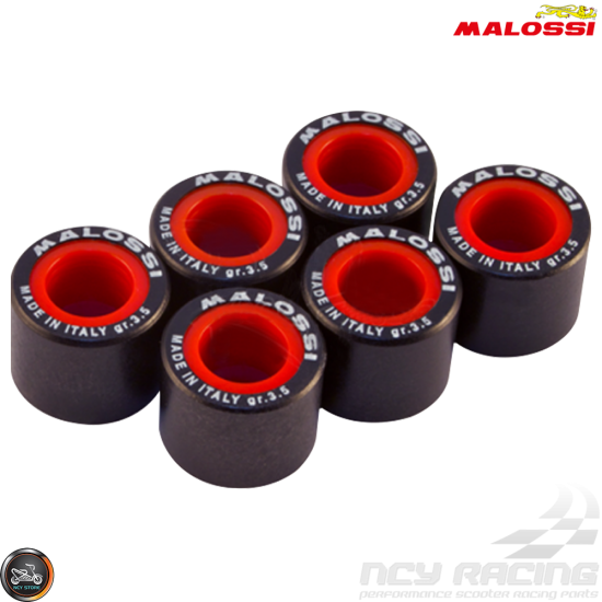 Malossi Variator Roller Weight Set 16x13 (DIO, GET, QMB)