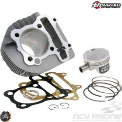 Naraku Cylinder 63mm 180cc Big Bore Kit w/Forged Piston Fit 54mm (GY6)