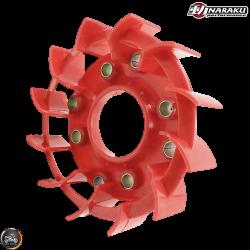 Naraku Stator Fan Turbo Red (QMB, GY6, Universal)