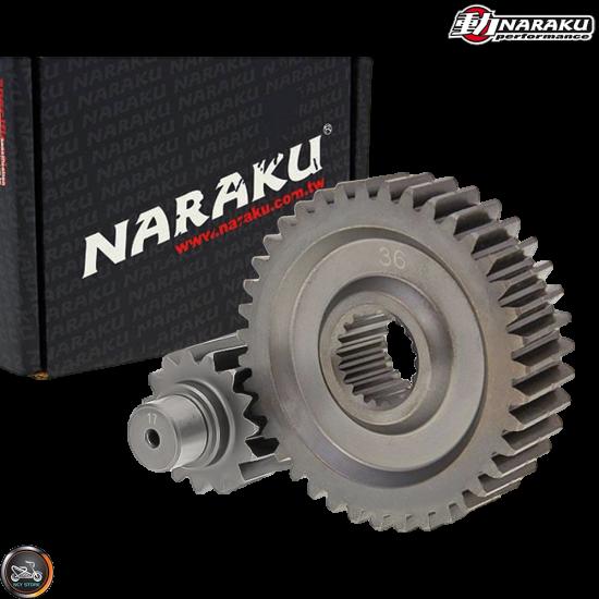 Naraku Gear Set 17*36 (GY6)