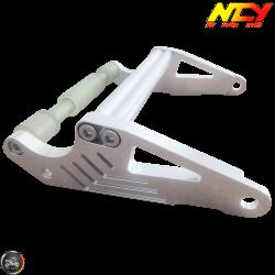 NCY Frame Extension Billet Aluminum Silver (Honda Ruckus)
