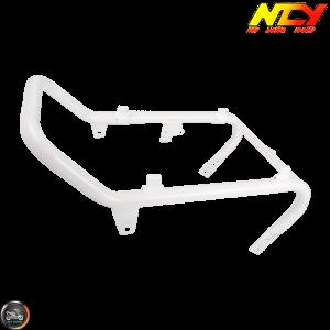 NCY Seat Frame Lowered Gloss White (Honda Ruckus)