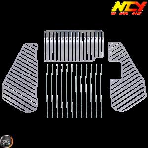 NCY Luggage Rack Steel Chrome (Honda Ruckus)