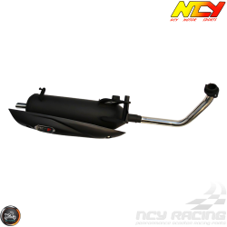 NCY Exhaust Performance Satin Black (Yamaha Vino 125)
