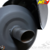 NCY Exhaust Performance Satin Black (Yamaha Vino 125)