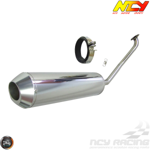 NCY Exhaust Stainless Steel Performance (GY6)
