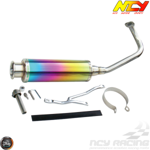 NCY Exhaust Electroplated Performance (139QMB)