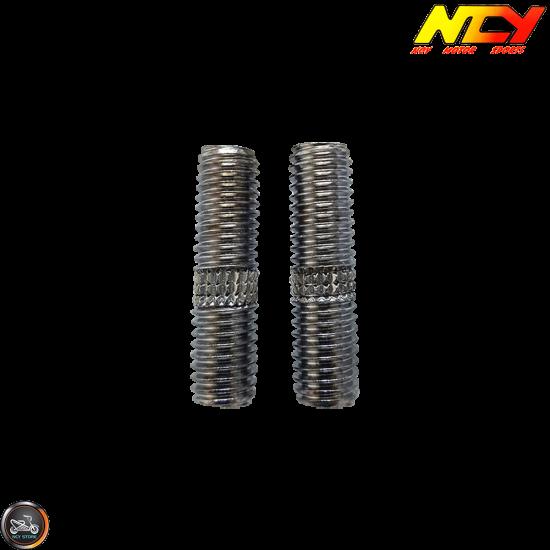 NCY Exhaust Stud M6x30mm Set (QMB, GY6)