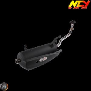 NCY Exhaust Performance Satin Black (Yamaha Zuma 125)