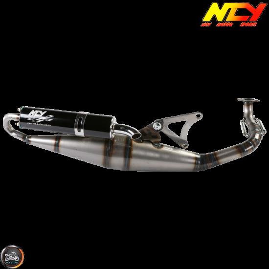 NCY Exhaust Performance Crossover Black Muffler (Yamaha Zuma 50)