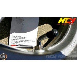 NCY Rim Valve Stem 90° Bent Alumin (QMB, GY6, Universal)