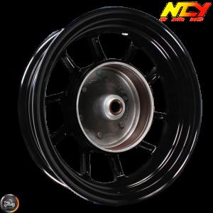NCY Rim Rear 12in Black 10-Spokes (BWS, Zuma 125)