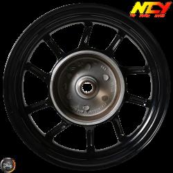 NCY Rim Front 10in Black 10-Spokes (Honda Dio)