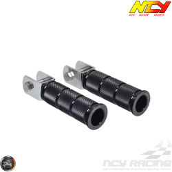 NCY Foot Peg Black Set (Ruckus, Zoomer)
