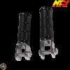 NCY Foot Peg Black Set (Ruckus, Zoomer)