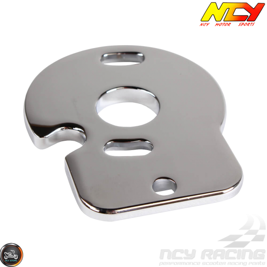 NCY Speedo Bracket Chrome (Honda Ruckus)