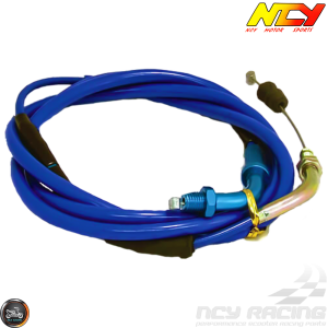 "NCY CVK Throttle Cable 76"" (QMB, GY6, Universal)"