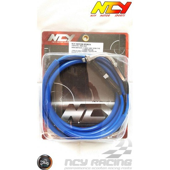NCY CVK Throttle Cable 76in (QMB, GY6, Universal)