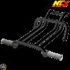 NCY Foot Rest Brace Kit Black (Ruckus, Zoomer)