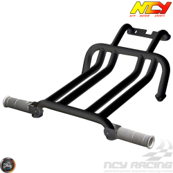 NCY Foot Rest Brace Kit Black (Ruckus, Zoomer)