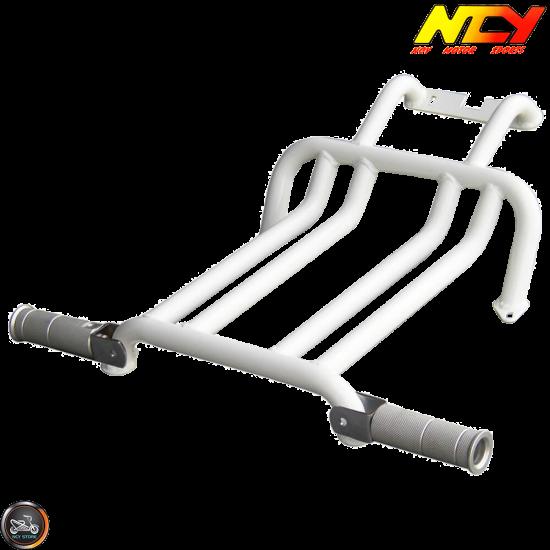 NCY Foot Rest Brace Kit White (Ruckus, Zoomer)
