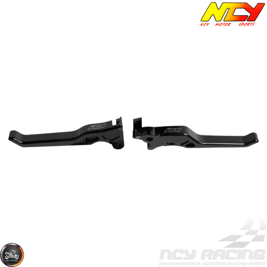 NCY Brake Lever Black Set Disc Type (Ruckus, Zoomer)